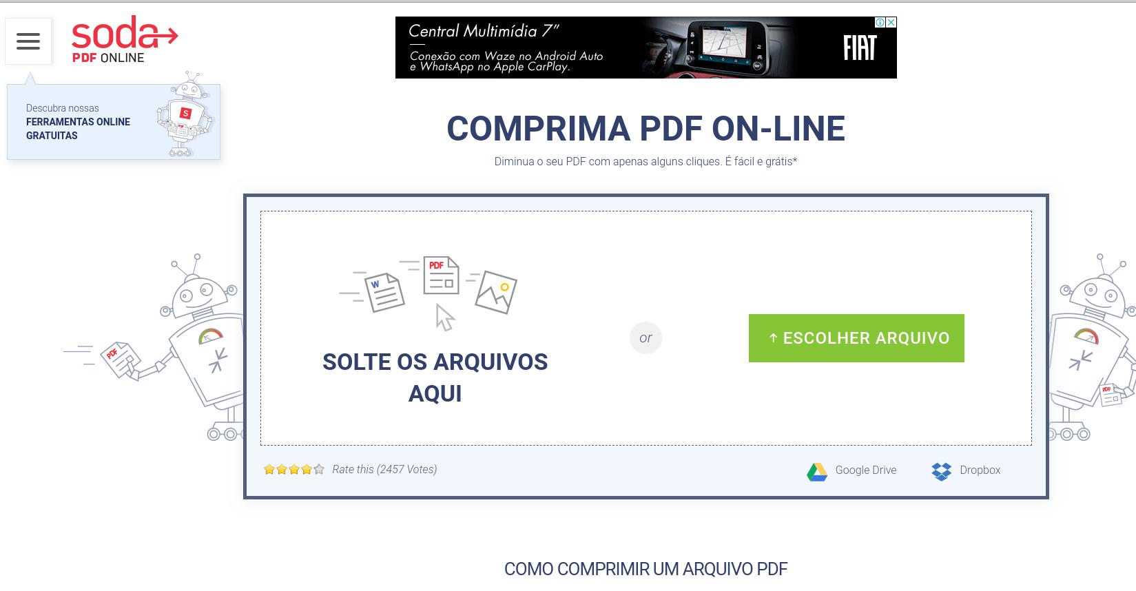 comprimir pdf a la mitad