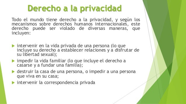 definicion de respeto a la privacidad segun diccionario