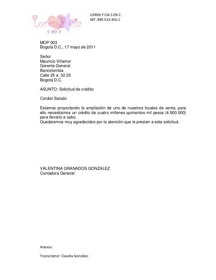 carta de solicitud de aumento de plazo
