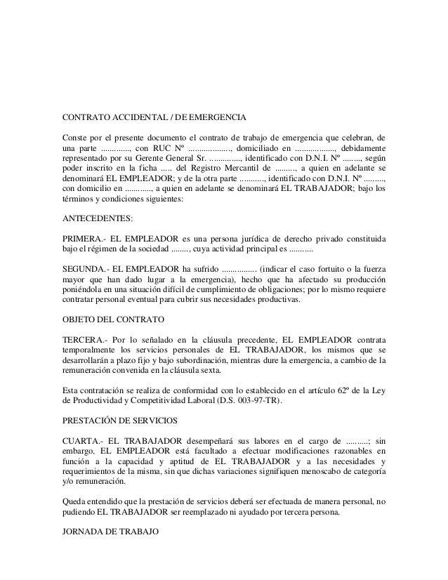 art 001 de condiciones laborales