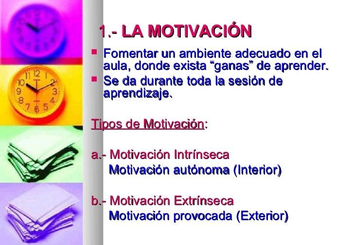 como fomentar la motivación en los alumnos pdf