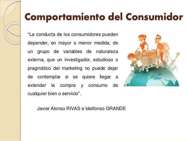 comportamiento del consumidor javier alonso rivas pdf
