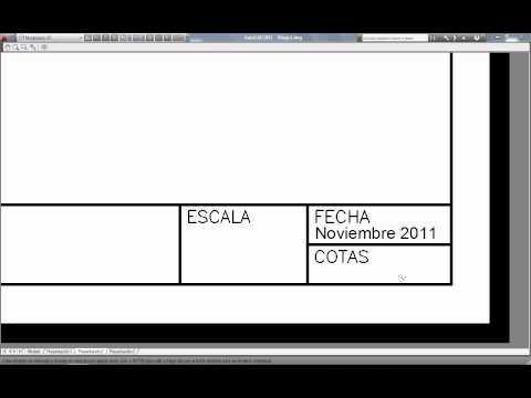 autocad a pdf varias presentaciones