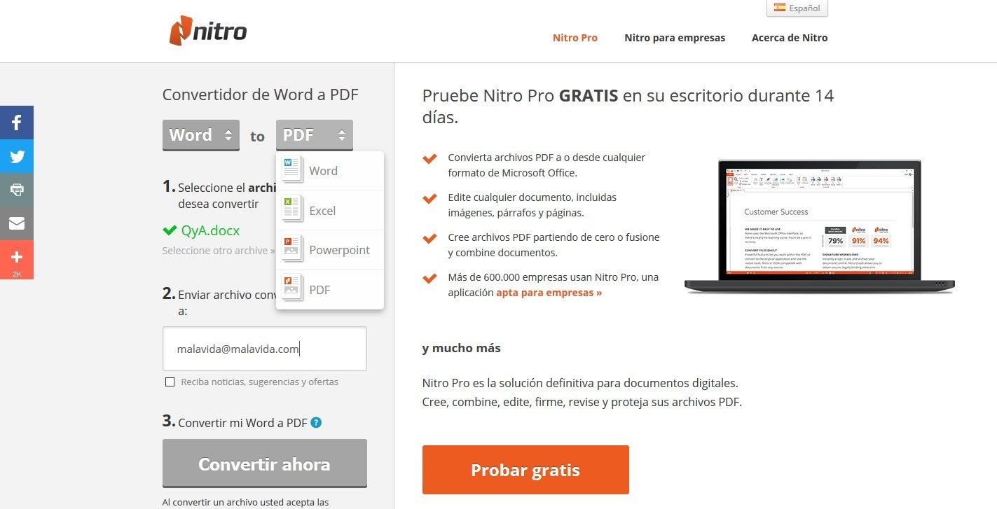 convertidor de pdf a word online gratis y rapido