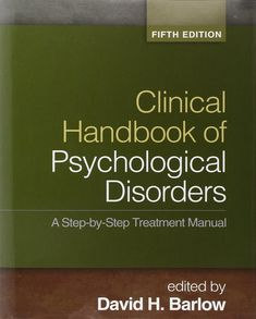 barlow handbook of psychological disorders fifth edition pdf