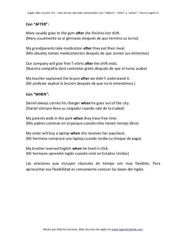 clausulas adverbiales en ingles pdf