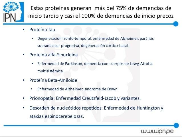 demencia asociada a parkinson pdf