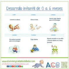desarrollo del niño de 0 a 6 meses pdf