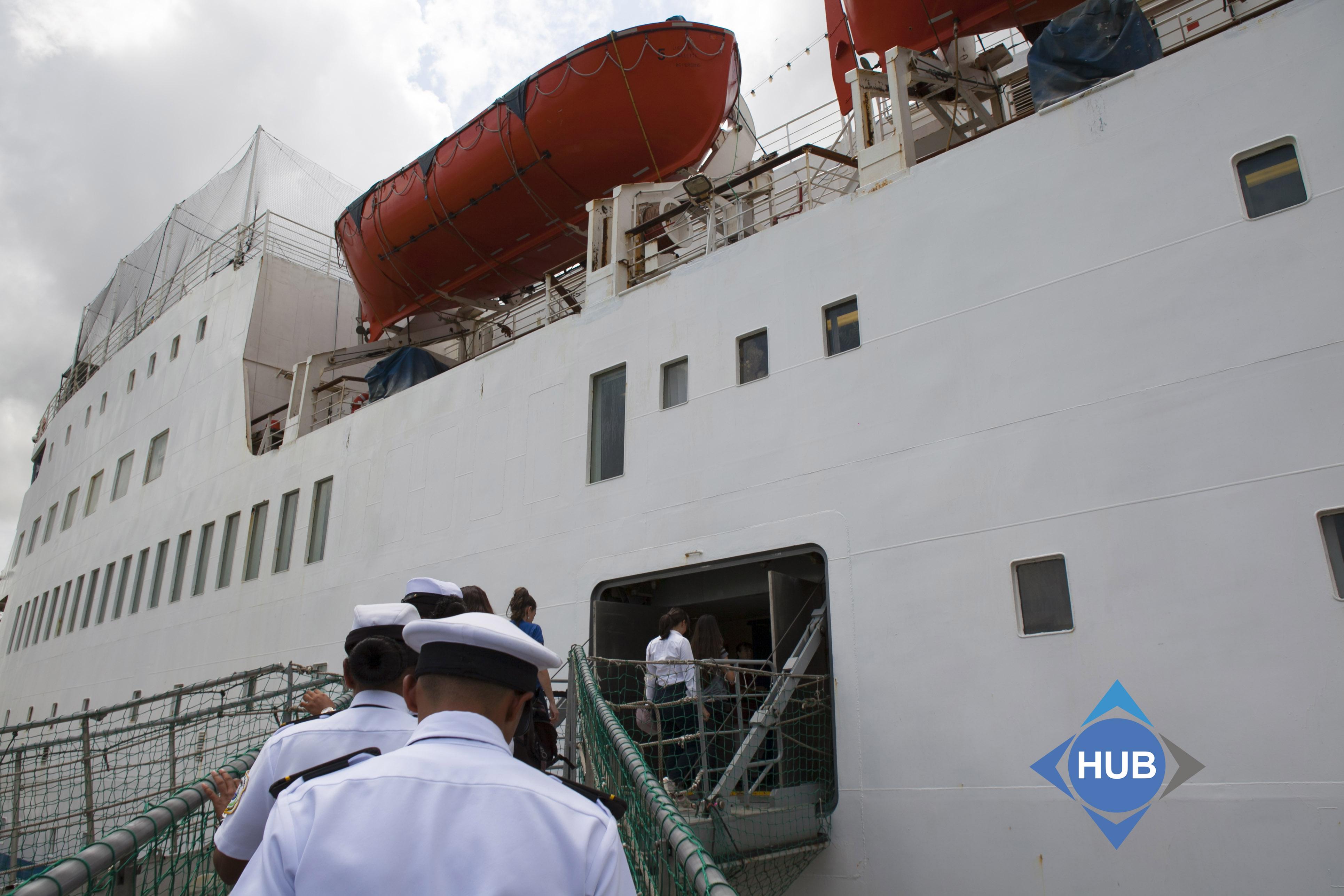 buque de instrucción marítima capital willians