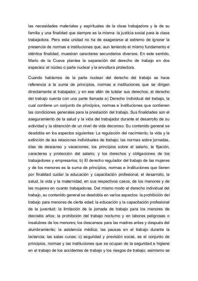 derecho mexicano del trabajo mario de la cueva pdf