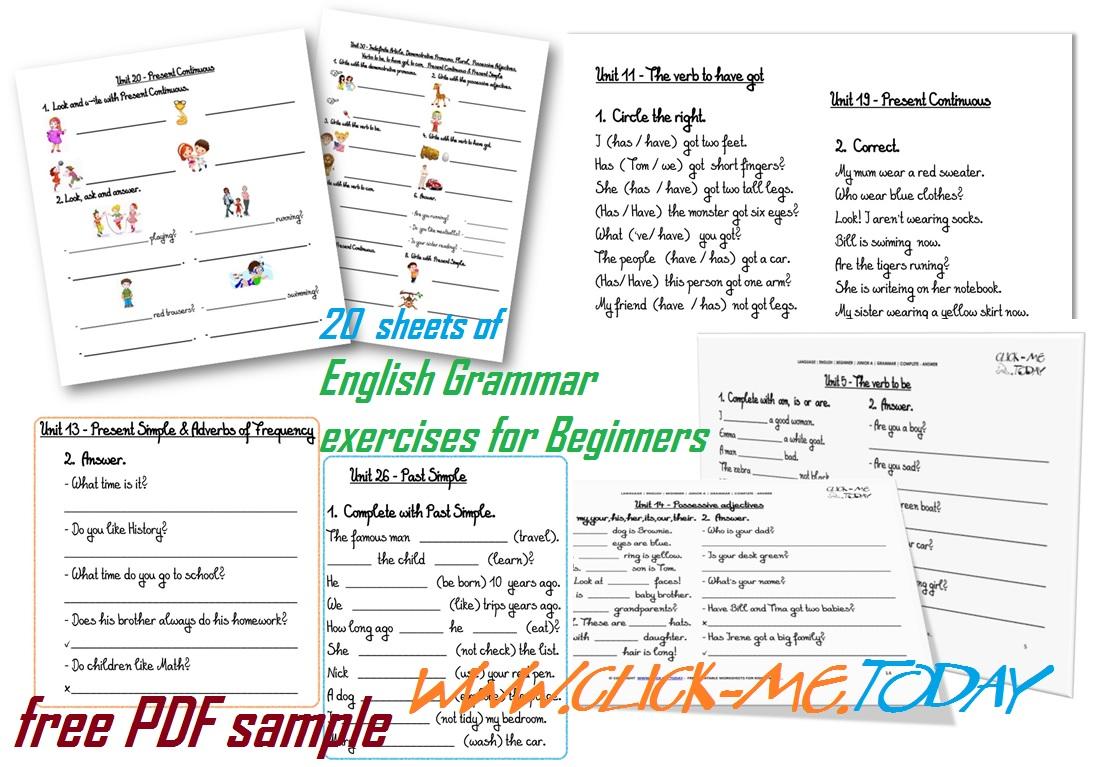 a an articles exercises pdf