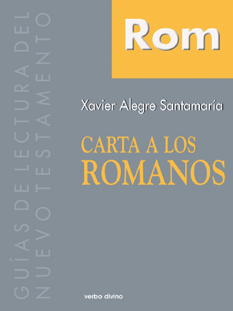 anders nygren la epístola a los romanos pdf