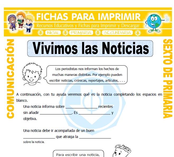 artículos informativos pdf 5to basico