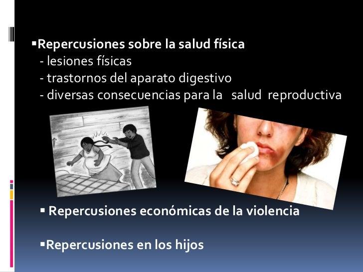 consecuencias fisicas de la violencia pdf