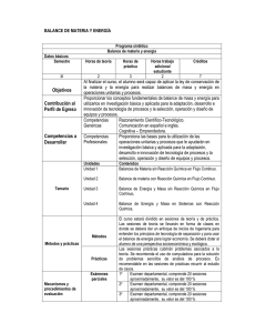 balance de materia y energia libros pdf