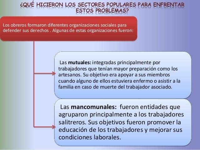 condiciones laborales de los obreros salitreros