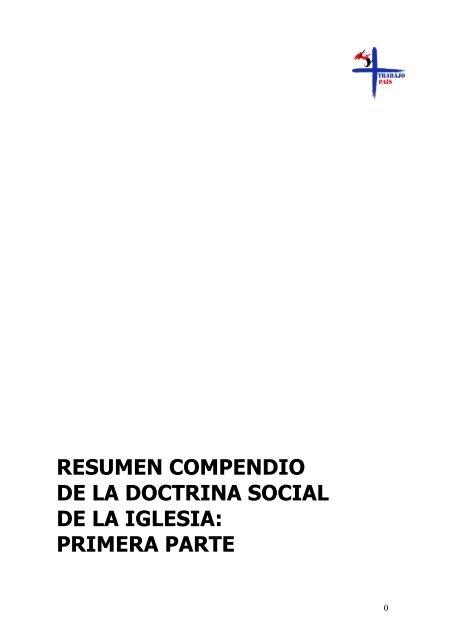 compendio de la doctrina social de la iglesia pdf