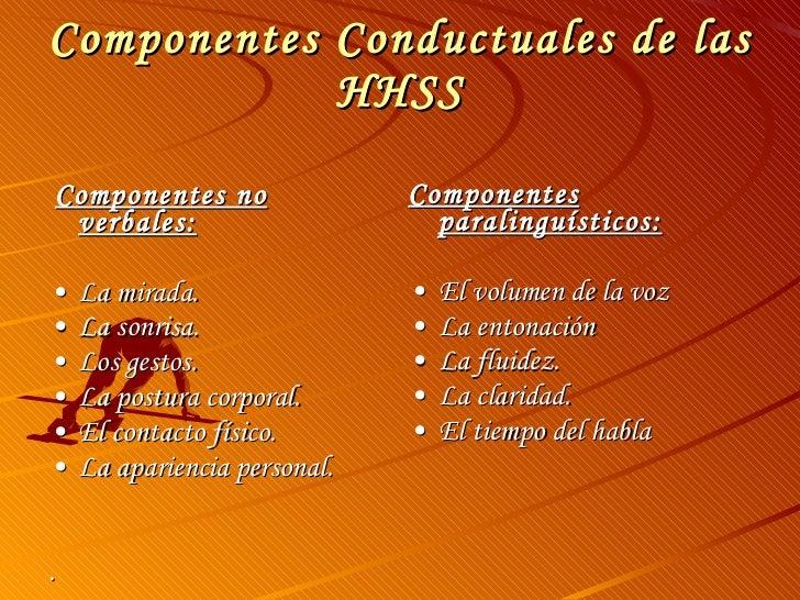 componentes paralinguisticos habilidades sociales pdf