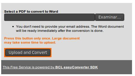 convertir pdf a word en linea gratis sin correo