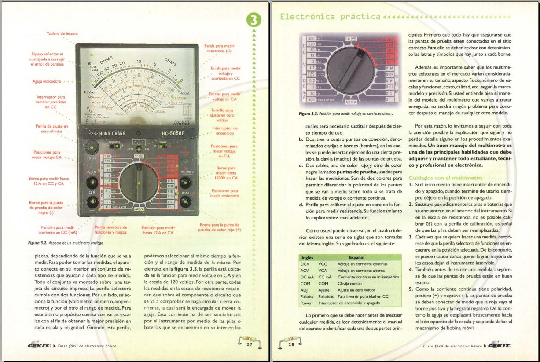 curso de electronica basica desde cero pdf
