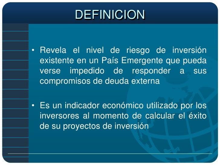 definicion de riesgo vital pdf