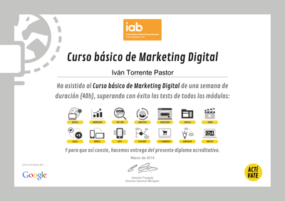 analitica web marketing digital de google activate pdf