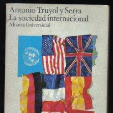 antonio truyol y serra la sociedad internacional pdf