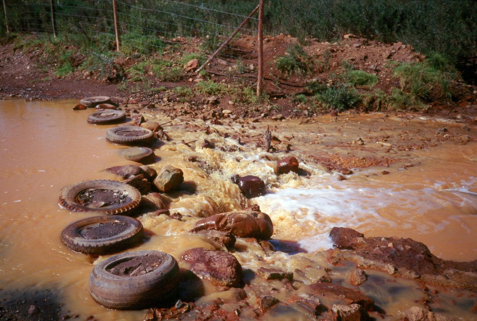 contaminacion del agua en chile pdf